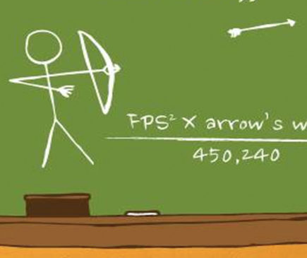 How to calculate the kinetic energy of an arrow formula | Wasp Archery